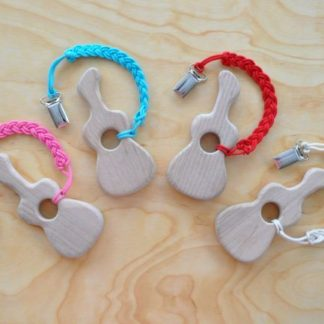 Choose your color of braided pacifier holder clip to buy from Barin toys online toy shop