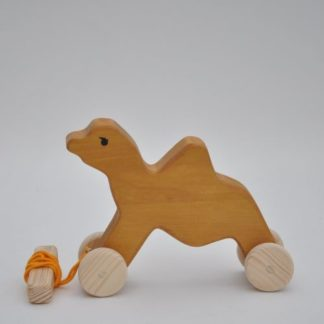 Buy wooden toy camel from BarinToys.com online toy store.