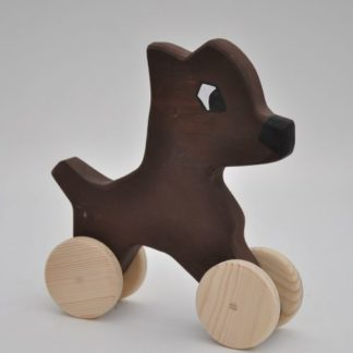 Buy Doberman Dog wooden Toy by Barin Toys Best Friends Cute Dog wooden pull toys at BarinToys.com online store direct!