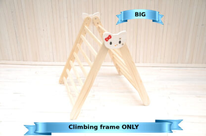 Hello Kitty climbing triangle big frame size by Barin Toys essential montessori baby independent free play toy available with door to door delivery