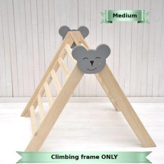 Barin Toys climbing frame indoor wooden baby climber Baby Koala