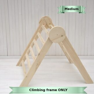 Baby triangle Barin Toys Circle wooden climbing frame - baby play space just in seconds