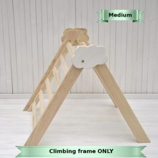 Buy online Barin Toys Cloud easy folding pikler climbing triangle