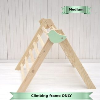 Easy folding indoor climbing frame for baby from 6 months