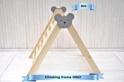 Climbing triangle Barin Toys Big Baby Koala wooden triangle climber montessori toy