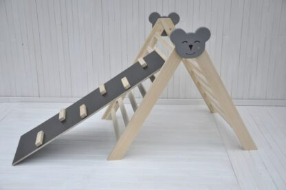 Climbing triangle Barin Toys Koala large pikler triangle montessori climber baby activity wooden play frame for indoor use set option.