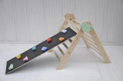 Kleines Vogelbaby pikler kletterdreieck klappbar Barin Toys baby klettergerüst kaufen online
