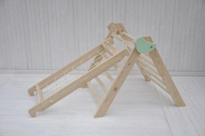 Bambino Uccellino triangolo di pikler pieghevole per neonati Barin Toys torre di pikler giochi