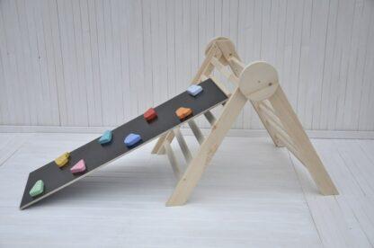 Acheter triangle pikler en ligne: Barin Toys fabrication triangle de pikler pliable