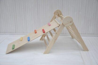 triángulo pikler españa entrega a domicilio: tobogán infantil y triángulo pikler articulado