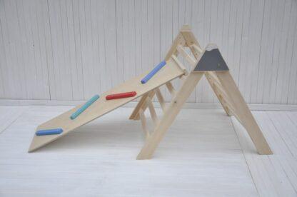 Alpinista Baby triangolo di pikler pieghevole per neonati Barin Toys torre di pikler giochi