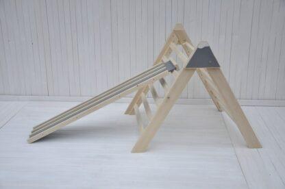 Bebê alpinista Barin Toys triângulo pikler portugal entrega à domicílio: escorrega infantil e triângulo pikler articulado