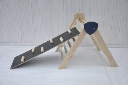 triangle de pikler pliable Barin Toys Chevalier d'escalade le triangle pikler pas cher avis occasion