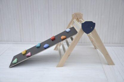 triangulo pikler Barin Toys Cloud y Beginner's Board rampa escalera montessori