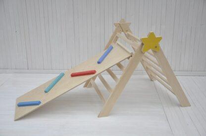 Barin Toys Estrella Bebé triangulo de pikler y rampa montessori sale barato comprar online BarinToys.com